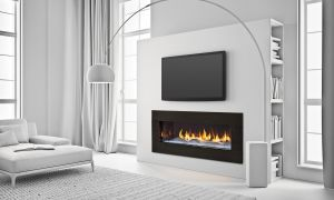 11 Lovely Recessed Fireplace