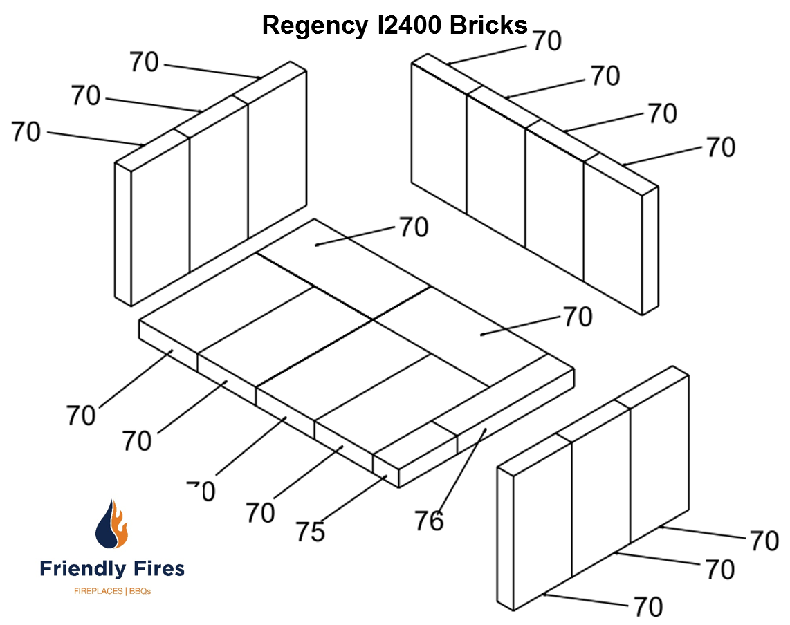 Regency 180 960 Brick Kit Friendly Fires