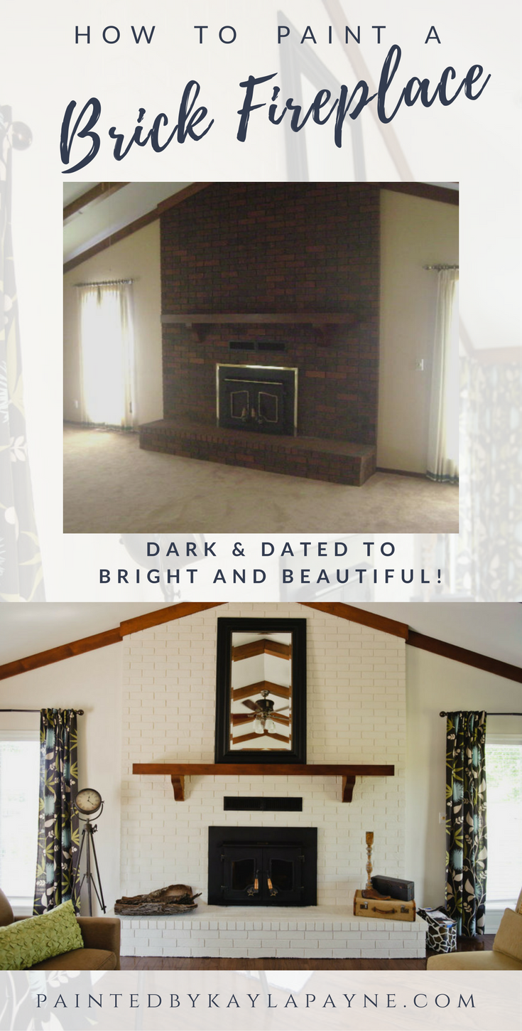 Restoring Brick Fireplace Fresh 5 Simple Steps to Painting A Brick Fireplace
