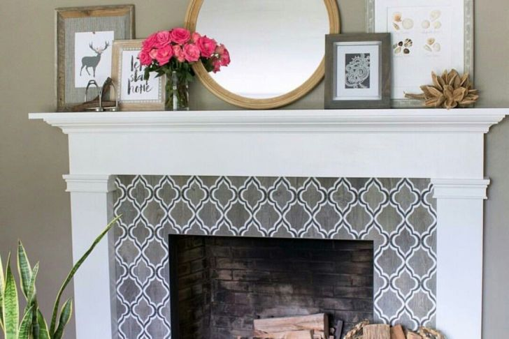 Round Mirror Over Fireplace Beautiful Perfect Round Mirror From Ikea for 7 5 Ft Ceiling