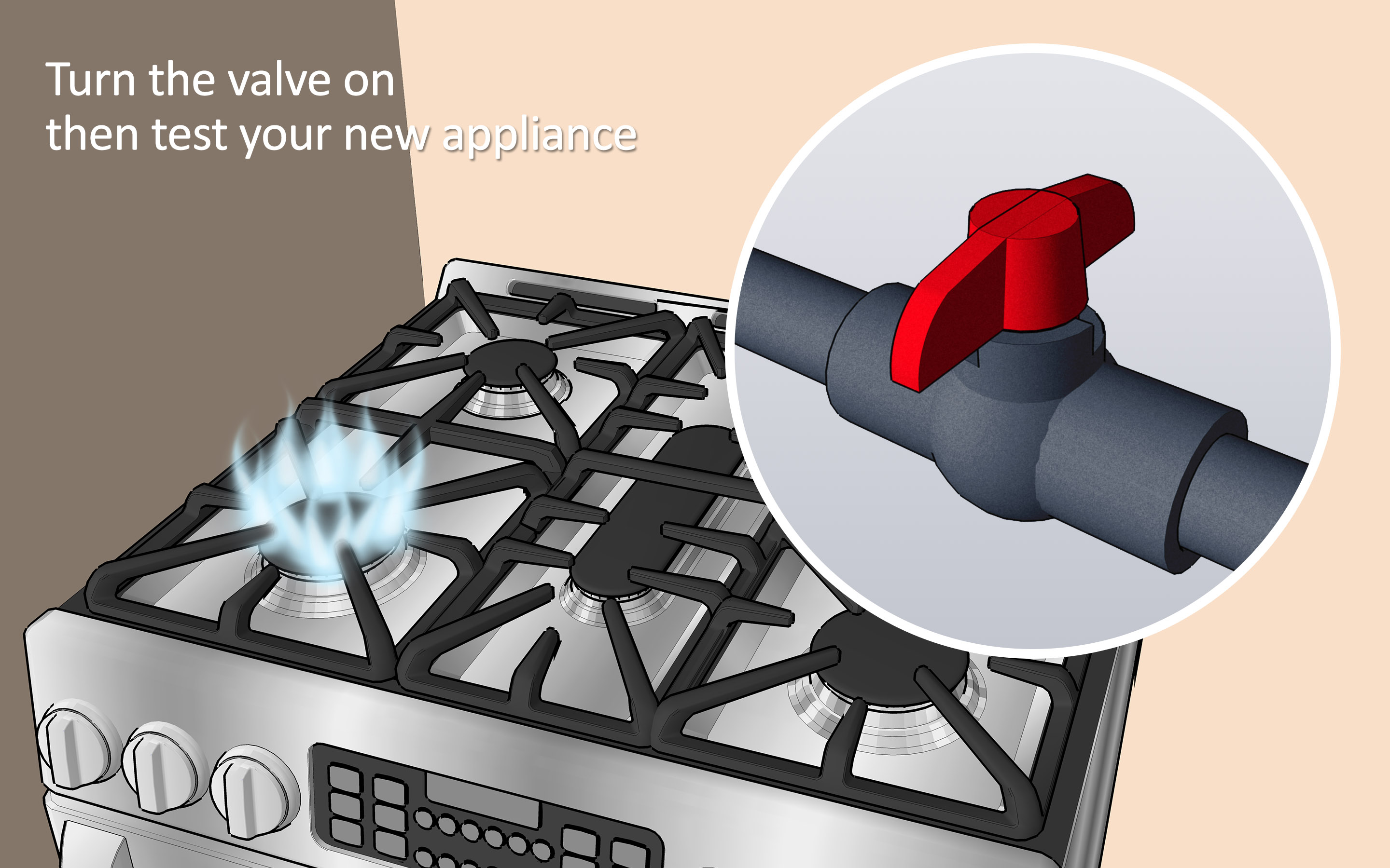 Running Gas Line to Existing Fireplace Beautiful How to Install A Gas Line 6 Steps with Wikihow