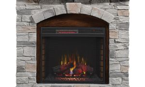 13 Best Of Rustic Electric Fireplace