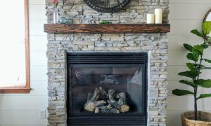 20 Inspirational Rustic Mantels for Stone Fireplaces
