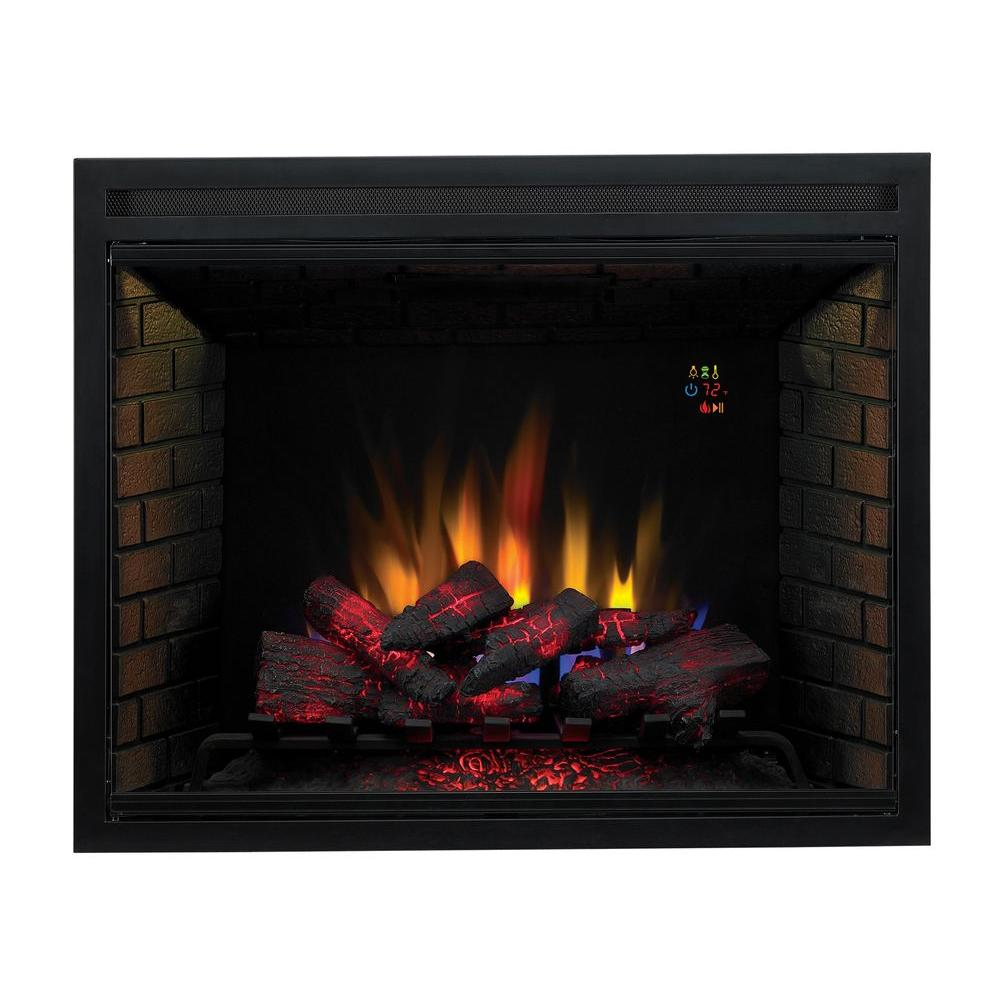 Rv Electric Fireplace Insert Unique 39 In Traditional Built In Electric Fireplace Insert