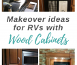 Rv Fireplace Beautiful 7 Ideas for Updating Wood Rv Cabinets without Painting them