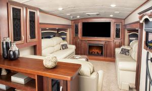 13 Luxury Rv Fireplace