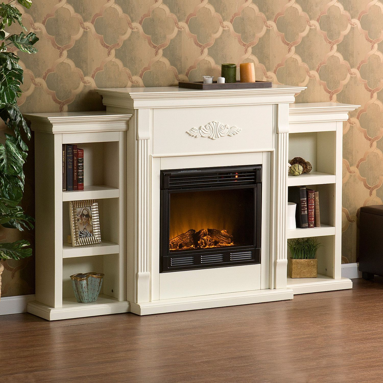 Sams Club Electric Fireplace Best Of Emerson Electric Fireplace Ivory Sam S Club