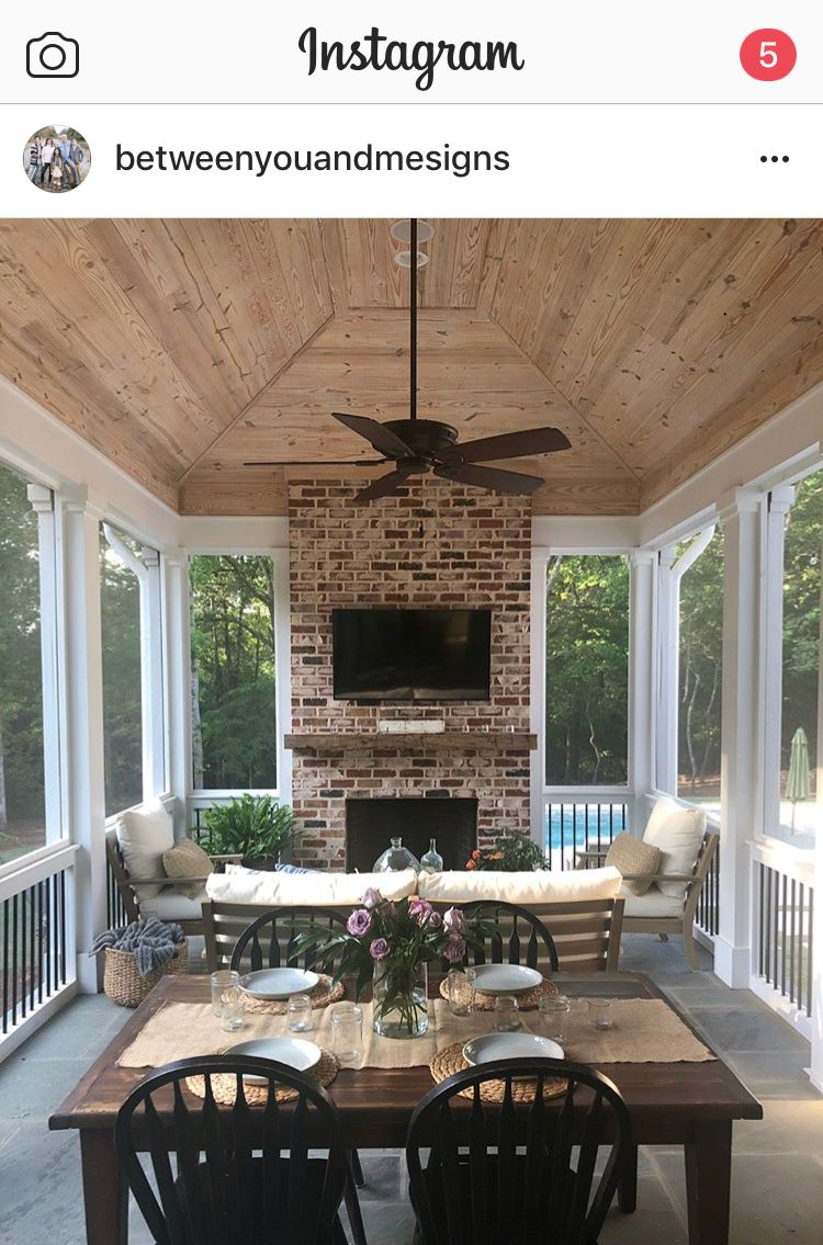 Screened In Porch with Fireplace Lovely Lovely Porch if there is Ever A tornado that S Takes the
