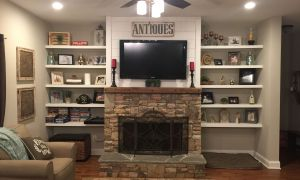 21 Beautiful Shiplap Above Fireplace