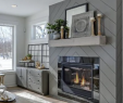Shiplap Above Fireplace New Future Fireplace Love the Herringbone Shiplap On This