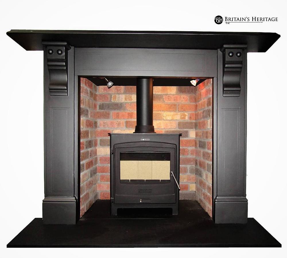 Slate Fireplace Surround Beautiful Edwardian Antique Fireplace Slate Surround