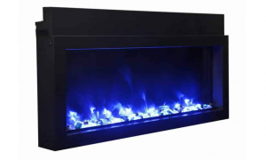 16 Lovely Slim Electric Fireplace