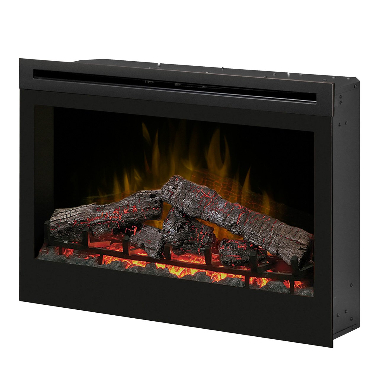 Slim Electric Fireplace New Dimplex Df3033st 33 Inch Self Trimming Electric Fireplace Insert
