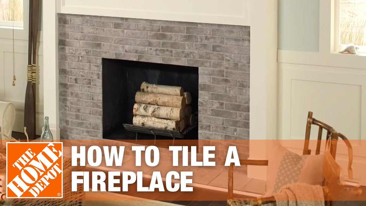 Small Portable Fireplace Awesome How to Tile A Fireplace with Wikihow