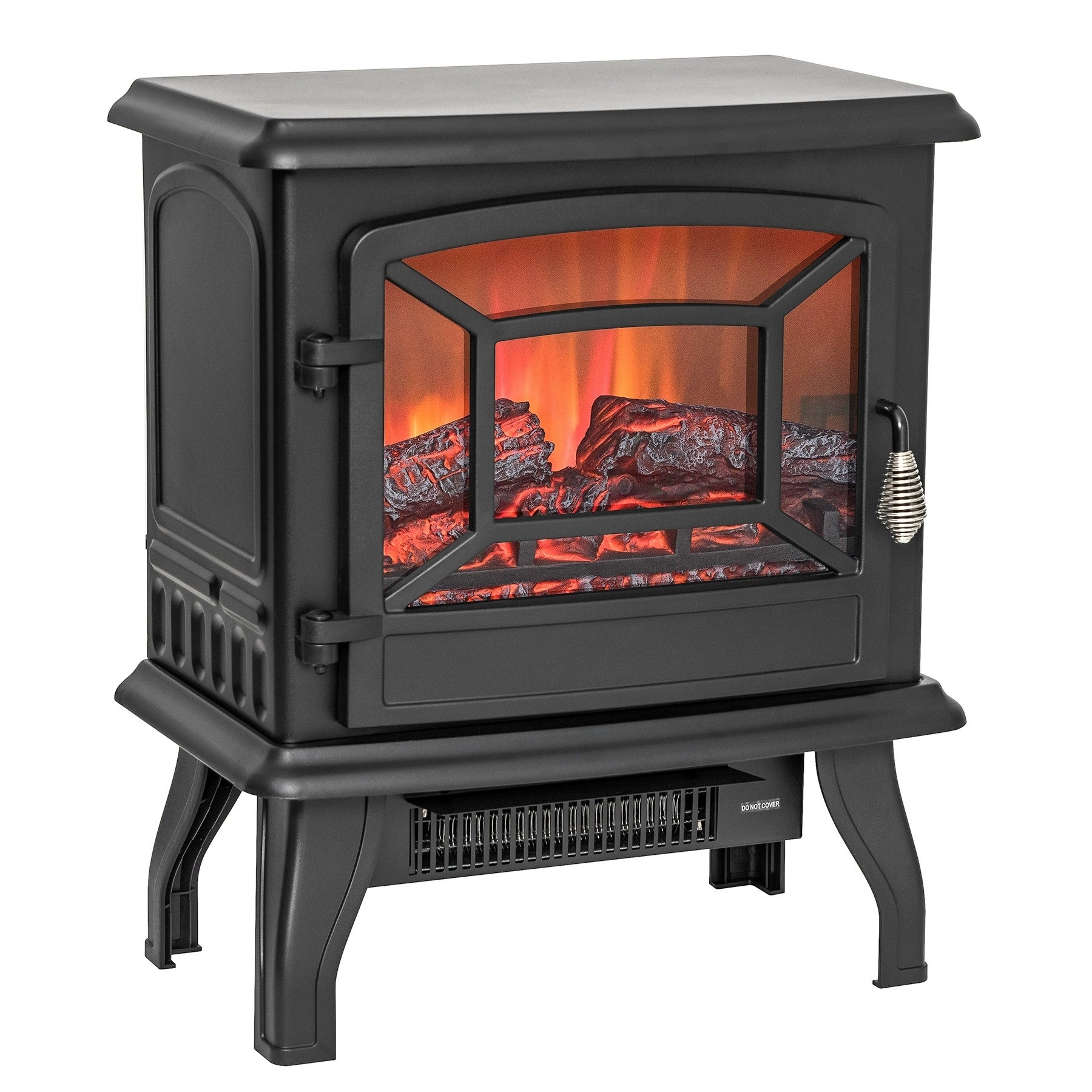 AKDY FP0078 17 Freestanding Portable Electric Fireplace 3D Flames Firebox w Logs Heater e1b5293b 5219 4064 8c41 903b6a