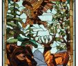 Stained Glass Fireplace Screen Beautiful Wilderness Stained Glass Panel Caas Collectibles