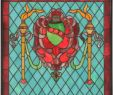 Stained Glass Fireplace Screen Inspirational 20 Inch X 20 Inchh Victorian Shield Twin torch Window