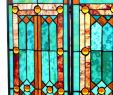 """Stained Glass Fireplace Screen Inspirational 28""""h Tiffany Style Stained Glass Fleur De Lis Fireplace Screen Green 44""""w X 28""""h"""
