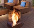 Stainless Steel Fireplace Elegant the Ecosmart Fire Mini T Fireplace is A Sleek Contemporary
