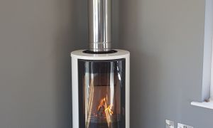19 Luxury Stainless Steel Fireplace