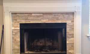 28 Elegant Stone Fireplace Mantel Ideas