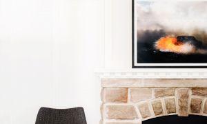17 Inspirational Suburban Fireplace