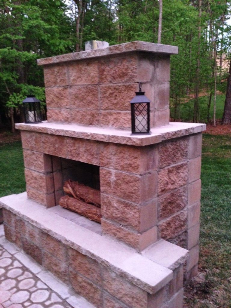 how to make an outdoor fireplace lovely diy outdoor fireplace for under 200 of how to make an outdoor fireplace