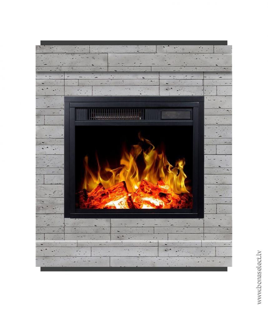 The Fireplace Man Inspirational ЭРектрический камин Smart Stone Concrete с портаРом