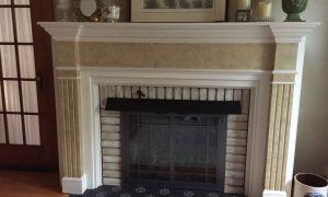 22 Lovely Tile Fireplace Makeover