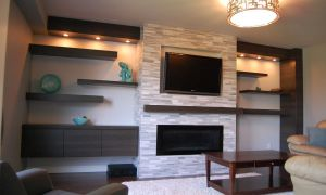 20 Unique Tv and Fireplace Wall