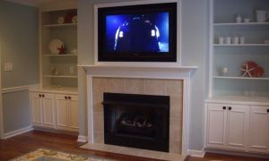 13 Elegant Tv Over Fireplace Height