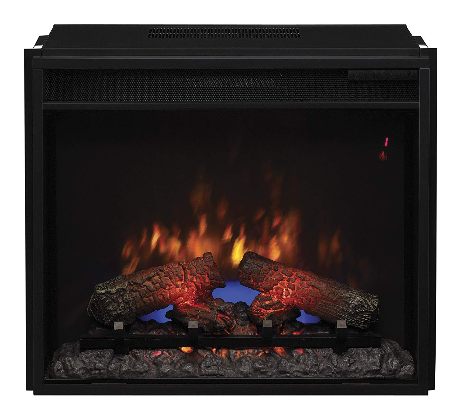 "Twin Star Electric Fireplace Beautiful Classicflame 23ef031grp 23"" Electric Fireplace Insert with Safer Plug"