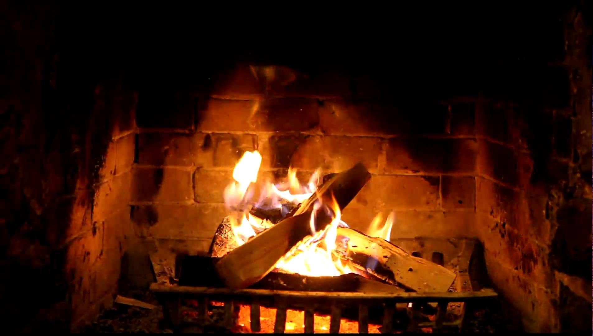 Virtual Fireplace Unique Crackling Fireplace In High Def 1080p