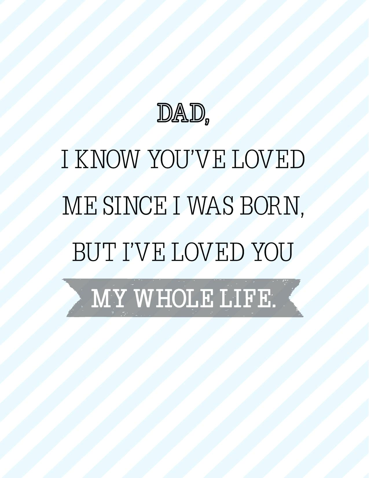 fathers day card sayings free cards loved you dad for uncle