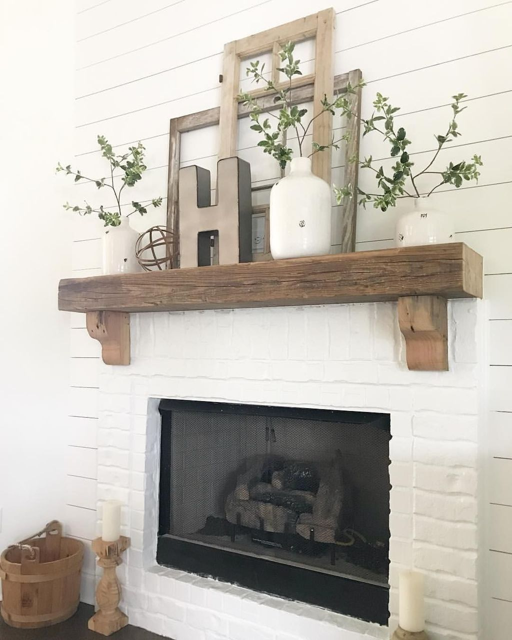 Wayfair Fireplace Mantel Lovely 39 Cozy Fireplace Decor Ideas for White Walls