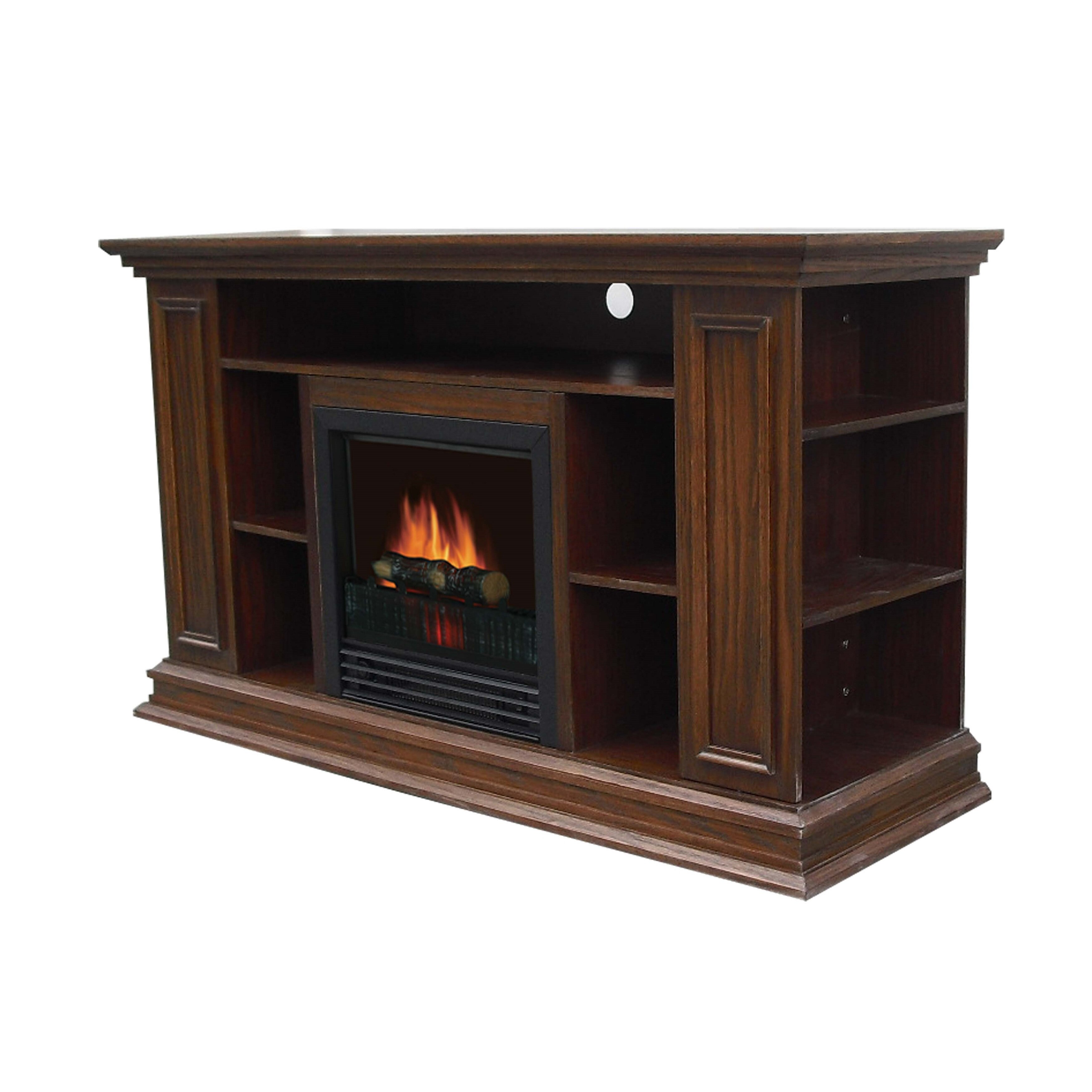Loon Peak Maidstone 50 TV Stand with Electric Fireplace