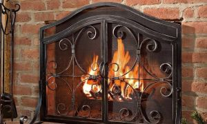 23 Luxury Western Fireplace Screen
