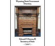 Whalen Elwood Media Fireplace Luxury 2015 Wyoming State Government Directory