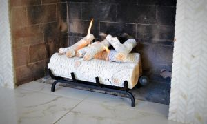 22 Lovely White Birch Fireplace Logs