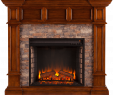 White Corner Electric Fireplace Best Of southern Enterprises Merrimack Simulated Stone Convertible Electric Fireplace