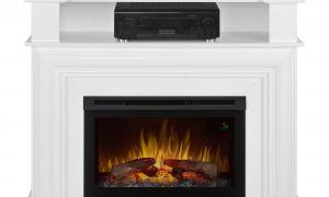16 Beautiful White Electric Fireplace Heater