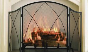 22 Lovely White Fireplace Screen