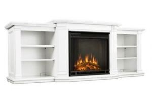 17 Awesome White Freestanding Electric Fireplace