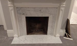 15 Awesome White Marble Fireplace