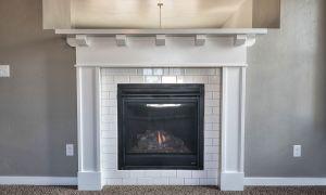 25 Unique White Tile Fireplace