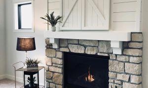 27 Beautiful White Wall Fireplace