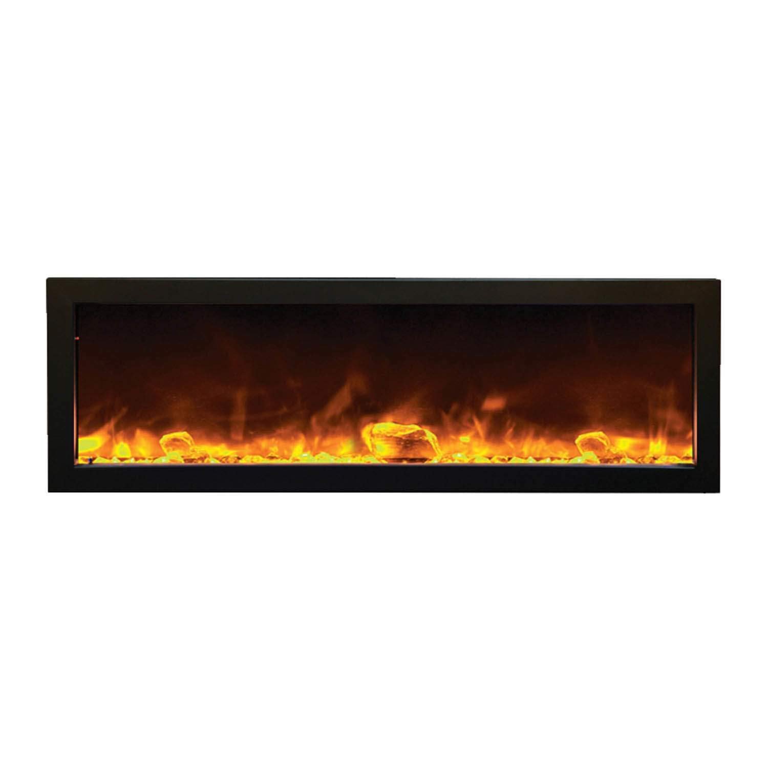 50 inch recessed electric fireplace awesome amantii bi 50 slim od outdoor panorama series of 50 inch recessed electric fireplace