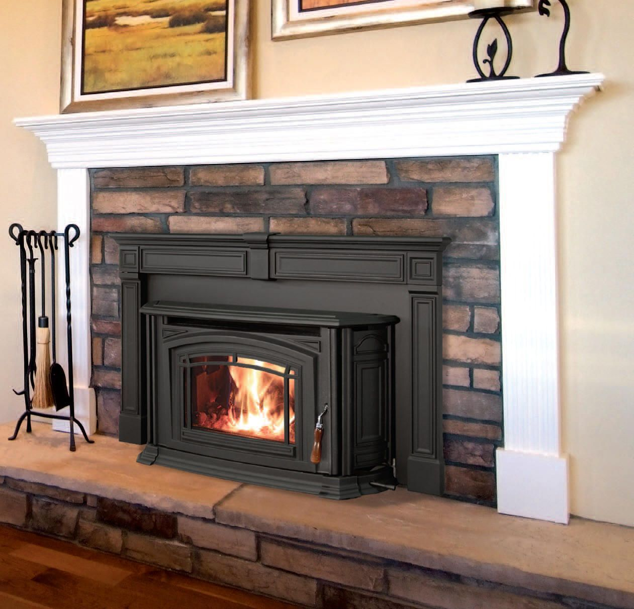 Wood Pellet Fireplace Insert Fresh I Like This Pellet Stove with A Mantel
