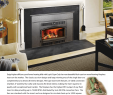 Wood Pellet Fireplace Insert New Capecod Insert
