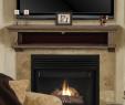"Wooden Fireplace Mantel Shelf Fresh Pearl Mantels 415 60 Abingdon Wood 60"" Fireplace Mantel Shelf Unfinished"